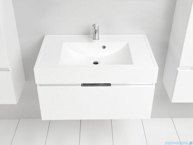 Antado Cantare szafka z umywalką 80x50x33 biały połysk FSM-342/8GT-47/47 + UNA-800