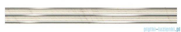 Tubądzin Larda white listwa ścienna 7,2x74,8