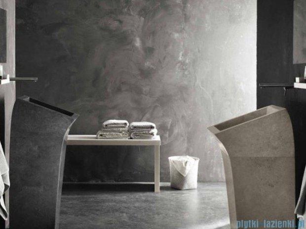 Bathco Lungo Square beige umywalka kamienna stojąca 38x43,5cm 00358