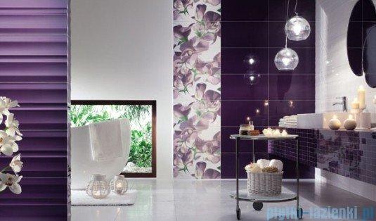 Dekor ścienny Tubądzin Colour Violet 32,7x59,3