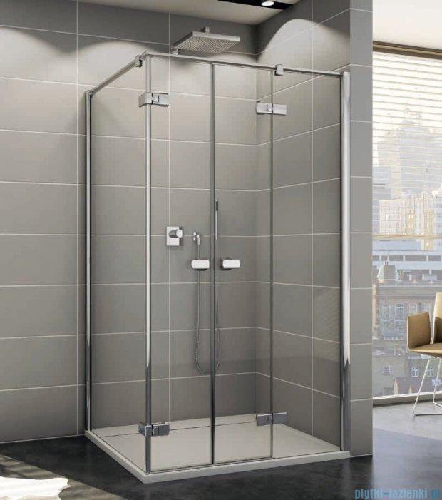 Sanswiss Melia ME32 Kabina prysznicowa prawa 140x80cm przejrzyste ME32PD1401007/MET2PG0801007