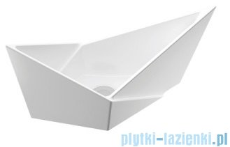 Marmorin Palera umywalka nablatowa biała 585060020010