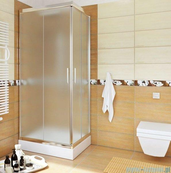 Sea Horse Sigma kabina natryskowa narożna kwadratowa, 80x80, szkło: chinchilla,   BK001/3/Q