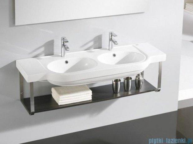 Bathco Hannover umywalka podwójna ścienna 132x48,5cm H1006