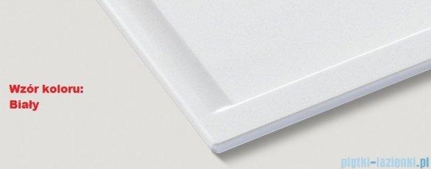 Blanco Zenar XL 6 S  Zlewozmywak Silgranit PuraDur komora lewa kolor: biały z kor. aut. i szklaną deską do krojenia 519285