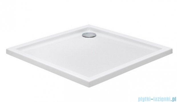 Roca Malaga Brodzik kwadratowy 80x80x4cm Biały Akryl A276253000