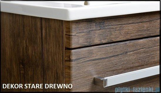 Antado Spektra ceramic szafka z umywalką 2 szuflady 62x43x50 stare drewno FDF-AT-442/65/2GT-50+UCS-AT-65