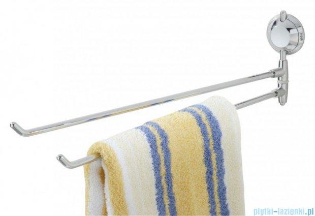 Tiger Torino Wieszak ręcznikowy dwuramienny chrom 3812.03