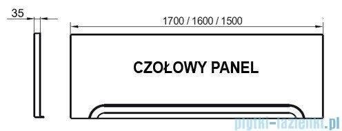 Ravak Przedni panel A 150 do wanien CZ001P0A00