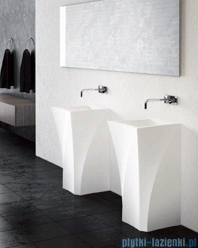 Marmorin umywalka stojąca Erato bez otworu biała 370050020010