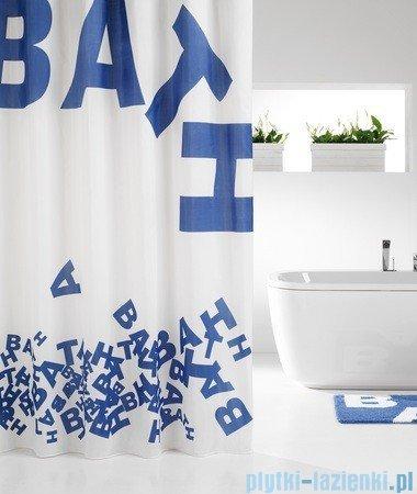 Sealskin Littera zasłona prysznicowa tekstylna 180x200cm 233021324