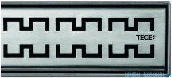 Tece Ruszt prosty Royal ze stali nierdzewnej Tecedrainline 80cm połysk 6.008.40
