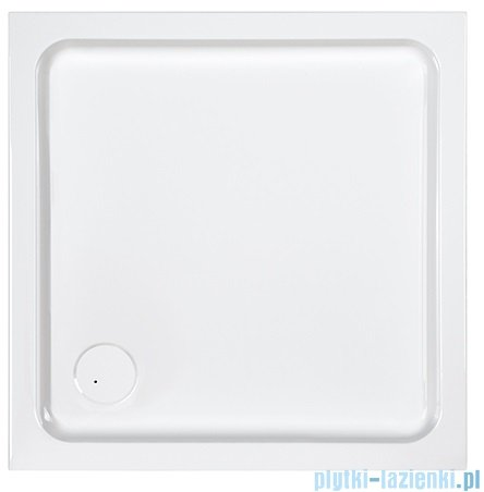 Sanplast Free Line brodzik kwadratowy B/FREE 80x80x5 cm + stelaż 615-040-1020-01-000