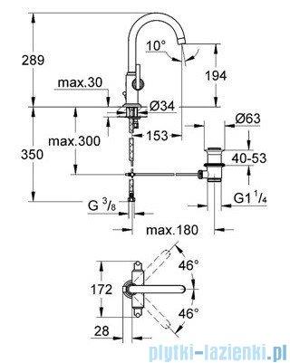Grohe Atrio jednootworowa bateria umywalkowa DN 15 chrom 21022000