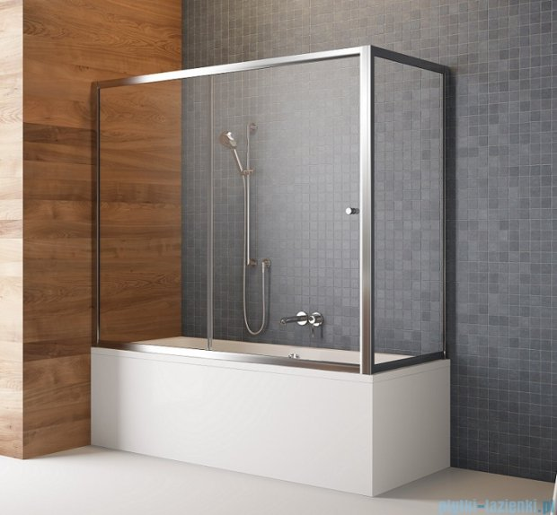 Radaway Vesta Dwj+s parawan nawannowy 140x75cm szkło fabric 209114-01-06/204075-06