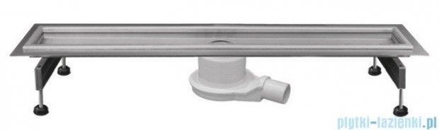 New Trendy odpływ liniowy LUX 100x10x7cm satyna OL-0015