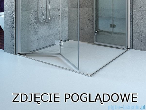 Radaway Essenza New Kdj kabina 80x100cm prawa szkło przejrzyste 385043-01-01R/384052-01-01