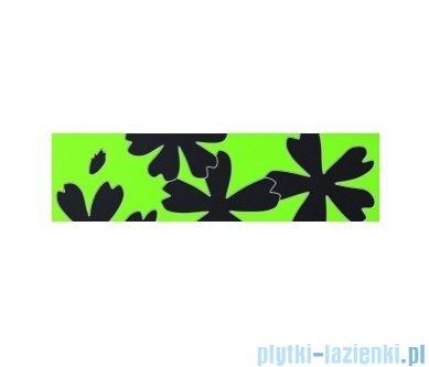 Listwa ścienna Tubądzin Colour Flower Green 2 59,3x16,25