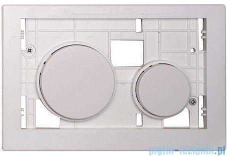 Tece Płytka z przyciskami-do WC Teceloop białe antybakteryjne 9.240.664