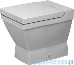 Duravit 2nd floor miska toaletowa stojąca lejowa do niezależnego dopływu wody 370x570 011009 00 00