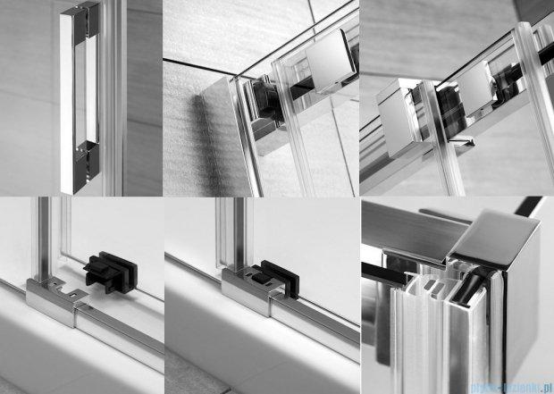 Radaway Espera KDJ Mirror kabina prysznicowa 100x100 lewa szkło przejrzyste 380130-71L/380140-01R