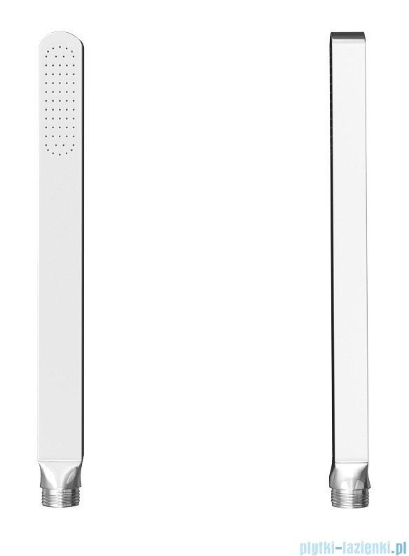 Kohlman Saxo zestaw wannowo-prysznicowy chrom QW211SQ20