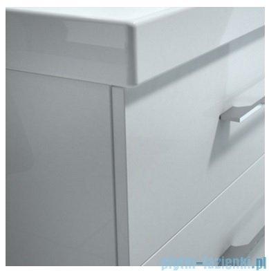 New Trendy szafka wisząca z lustrem One 60cm biały połysk ML-0016