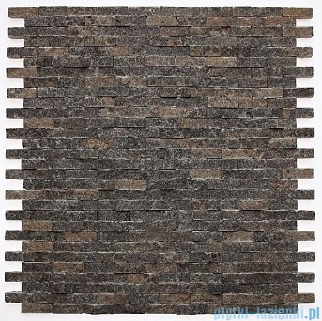 Dunin Zen mozaika kamienna 30x30 dark brick