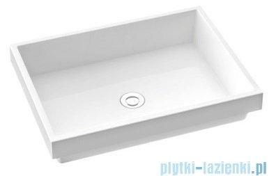 Marmorin Teo 600 umywalka wpuszczana w blat 60x45 biała 649060020010
