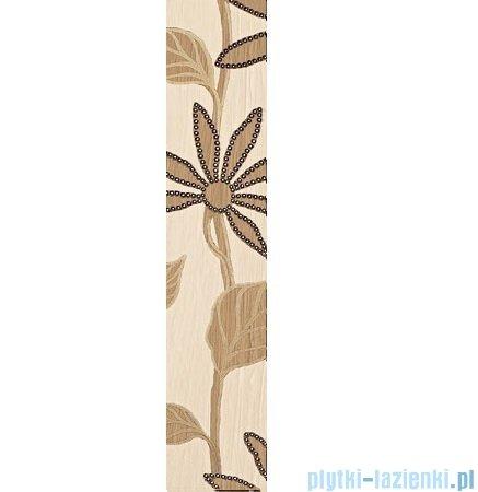 Domino Bali beż listwa ścienna 7,4x36