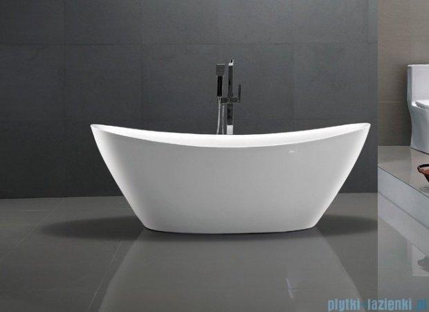 Massi Modern wanna wolnostojąca 180x87 cm biała MSWA6807