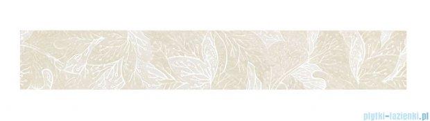 Tubądzin Obsydian white listwa ścienna 9,8x59,8
