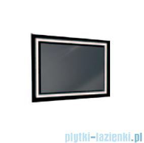 Antado lustro z ramką świetlną lacobel LED zimne 60x80cm L1-B4-LED2B
