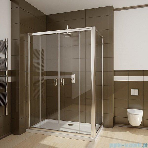 Radaway Premium Plus DWD+S kabina prysznicowa 140x80cm szkło przejrzyste 33353-01-01N/33413-01-01N