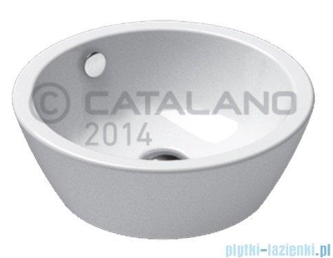 Catalano Velis 42 umywalka nablatowa 42x42 biała 142VL00
