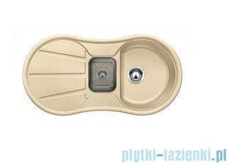 Blanco Cron 6 S zlewozmywak Silgranit PuraDur  kolor: szampan  z k. aut. z odsączarką tworzywo szt. 513925