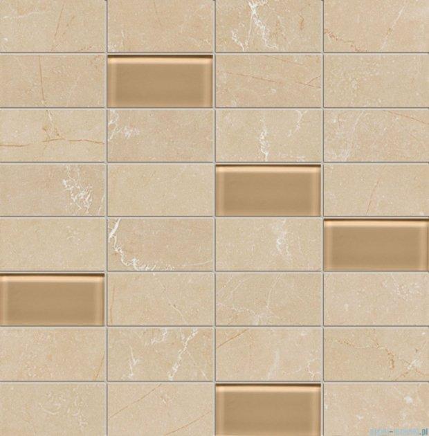 Tubądzin Gobi beige mozaika ścienna 30,3x30,8