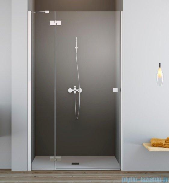 Radaway Essenza New Dwj drzwi wnękowe 90cm lewe szkło przejrzyste 385013-01-01L