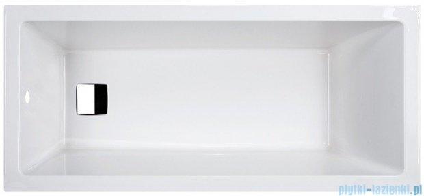 Sanplast Space Line Wanna prostokątna+adapter z pokrywką WP/SPACE 170x75, 610-100-0150-01-000