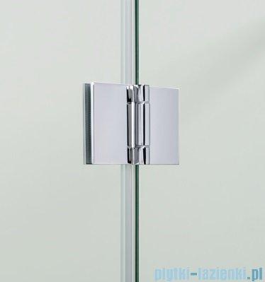 Omnires Manhattan kabina prostokątna 3M™ Easy Clean 100x90cm szkło przejrzyste+brodzik ADC91XLUX-T/3.068