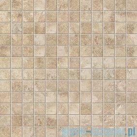 Tubądzin Lavish brown mozaika podłogowa 29,8x29,8