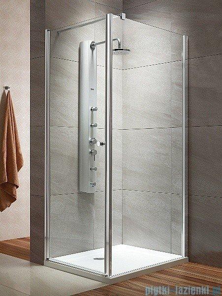 Radaway Eos KDJ kabina prysznicowa 100x100 lewa szkło intimato + delos C + syfon 37523-01-12NL
