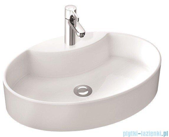 Marmorin umywalka nablatowa Toni z otworem biała  495060020011