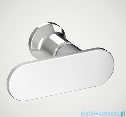 New Trendy New Soleo 90x195 cm drzwi wnękowe wspornik krzyżowy przejrzyste D-0155A-WK