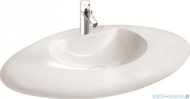 Marmorin umywalka nablatowa Lavinia z otworem biała 120089020011