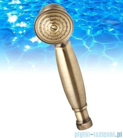 Omnires Art słuchawka prysznicowa 1-funkcyjna brąz antyczny DECO-RBR