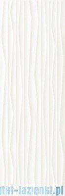 Paradyż Elanda bianco struktura płytka ścienna 25x75