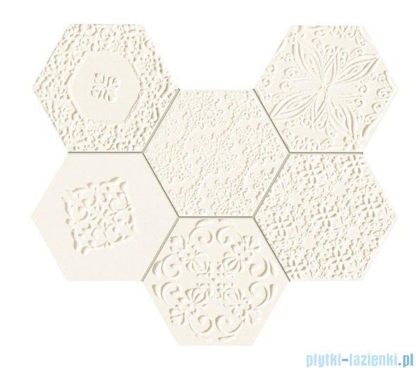 Tubądzin Elementary hex mozaika ścienna 28,9x22,1