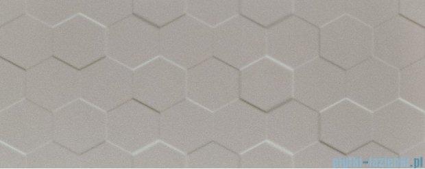 Tubądzin Elementary grey hex STR płytka ścienna 29,8x74,8
