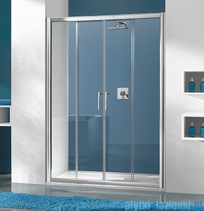 Sanplast drzwi przesuwne D4/TX5b-170 170x190 cm przejrzyste 600-271-1270-38-401